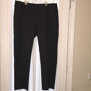 Grey, tweed dress pants